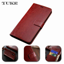 TUKE Book Wallet Style Skin Stand PU Leather Case For China Mobile A1 A 1 Mobile Phone Cases Bag Card Slot