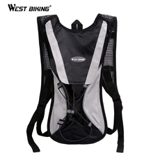 WEST BIKING Bike Cycling Lightweight Backpack Bicycle Packsack Cycling Hydration Bike Bag 2.5L Water Bag Hiking Backpack Bag