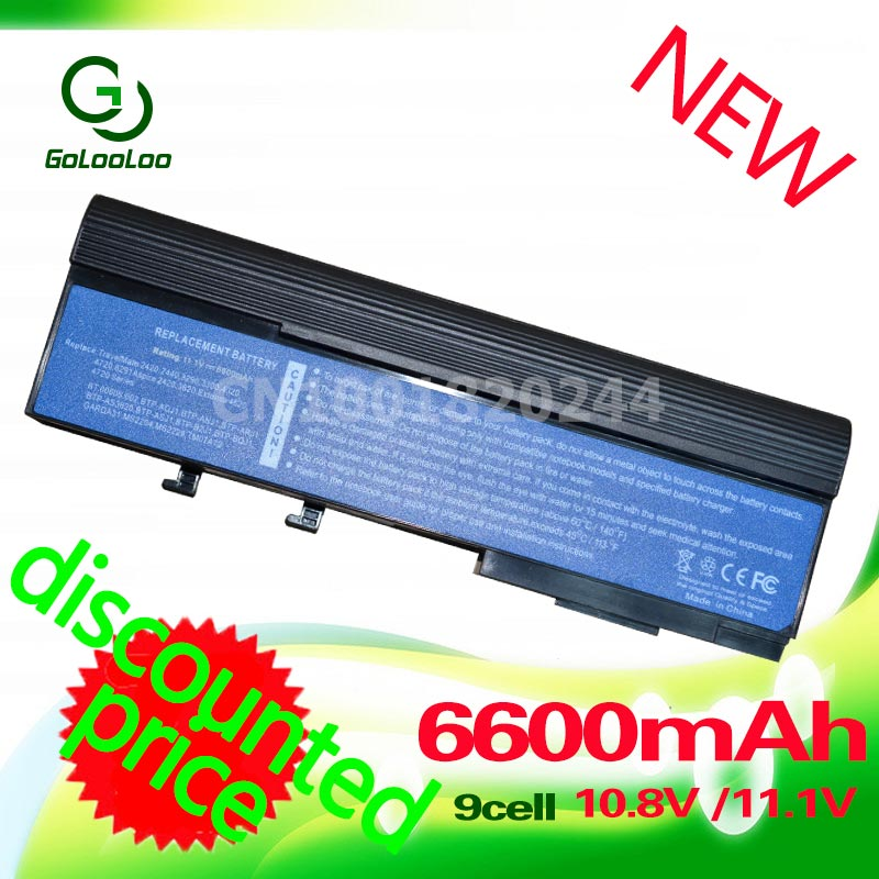 Goloolo Laptop Battery for Acer Aspire 2420 2920 2920Z 3620 3640 3670 5540 5550 5560 5590 Extensa 3100 4120 4130 4220 4230 4420