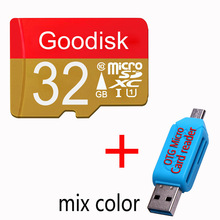 class6 TF card 32gb 8GB micro sd card 16 GB 32 GB 64GB memory cards for Phone/Tablet/Camera to(China)