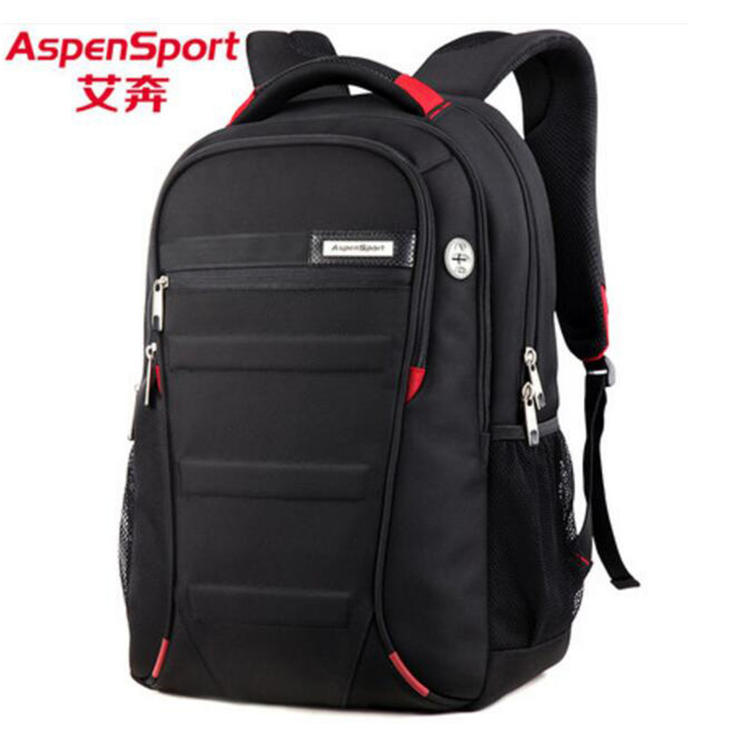 Popular Mens bag nylon backpack Travel leisure business 17-inch laptop high grade high school students School bag<br>