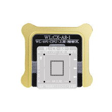NEW  WL Best For iPhone5 6 7 CPU NAND A7 A8 A9 A10 Processor BGA Reball Tin Net Stencil Great Repairing Tool Base