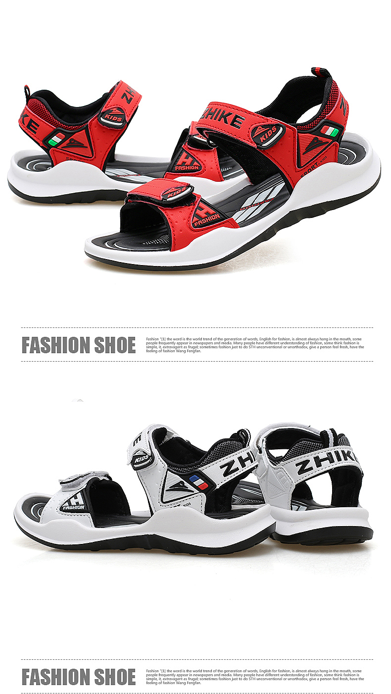 Children's Shoes Summer Open Toe Boys Sandals Sports 11 Non-slip 12 Primary School Students 15 Years Old Children's Beach Shoes 18 Online shopping Bangladesh