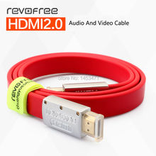 Revofree CYH2 HDMI HD 2.0 edition 3D personal computer connected to 4K TV with flexible flat cable use home theater