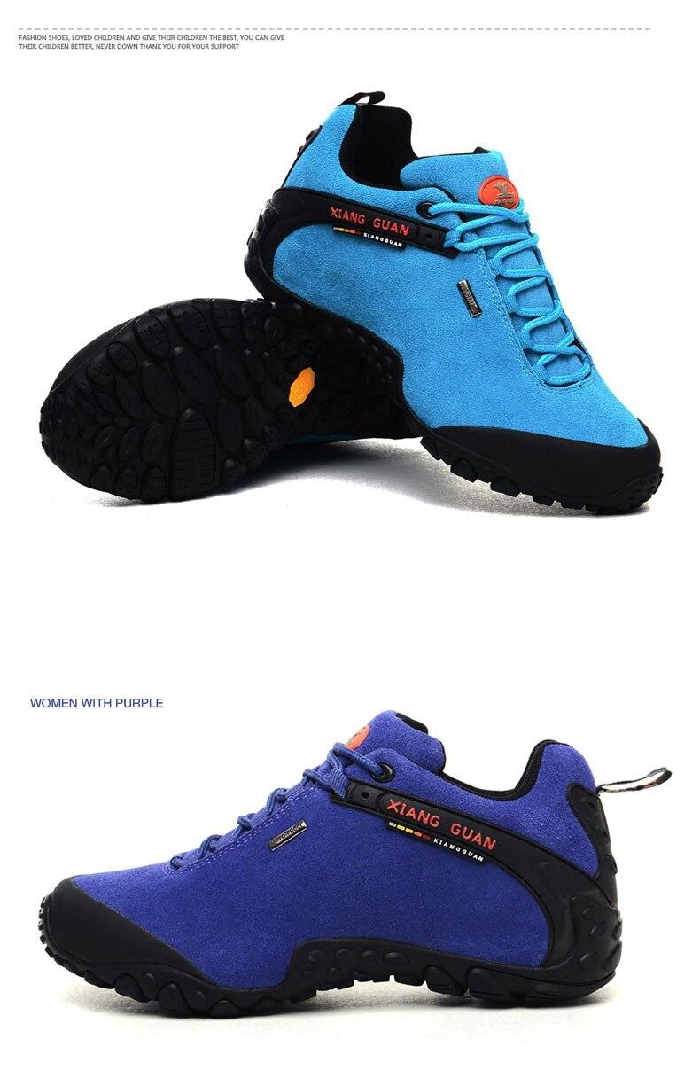 XIANG GUAN Winter Shoe Mens Sport Running Shoes Warm Outdoor Women Sneakers High Quality Zapatillas Waterproof Shoe81285 49
