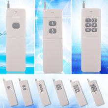 1 Pc Universal Electric 433mhz 3000m Wireless Remote Control With 2-12 Buttons Practical High Power Wireless Remote Control(China)