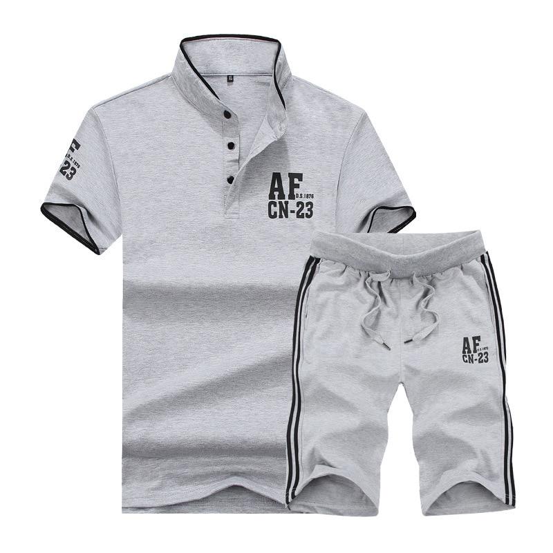 Summer-Mens--Shirts-Tracksuit-Men-Shorts-Set-Fashion-Fitness-Clothing-Track-suit-Men-Short-Sleeve (2)