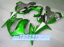 Dor-hot sales Fairing kit fit for YZF 2003-2005 R6 body kits YZF R6 03 04 05 high grade fairings green black D(China)