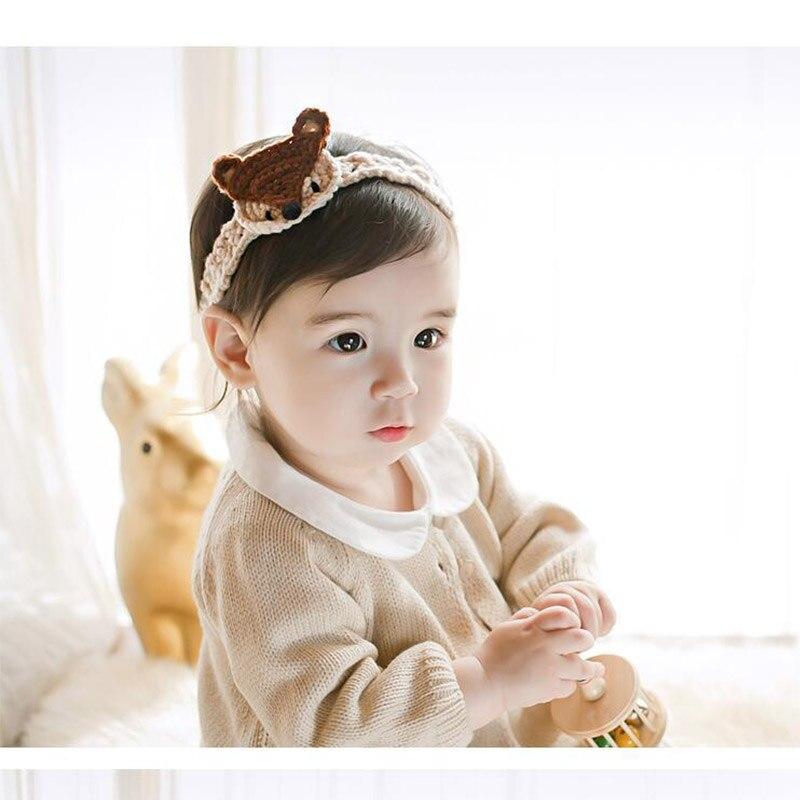 Baby Hair Accessories Toddler Cute Fox Girl Kids Animal Hairband Turban Headband Headwear Soft Hairband Christmas Gifts<br><br>Aliexpress