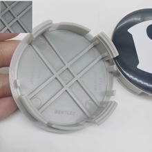 20pcs/for Bentley continental GT/ speed / elegant emblem wheel cover wheel hub cover wheel cover center sticker for Bentley logo(China)