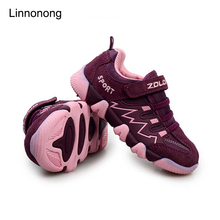Size 25-37 Hot Selling Children Shoes Brand Girls Boys Sneakers Breathable Child Sports Shoes Kids Outdoor Running Shoes Flats