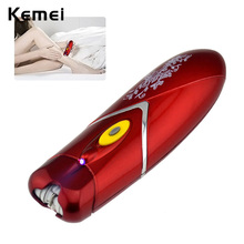 Automatic Battery Electric Epilator Hair Removal Trimmer Depilatory Women Body Face Arms Leg Bikini Underarms Epilation Remover