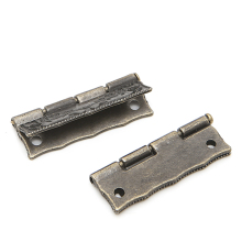 2pcs Antique Bronze Cabinet Furniture Door Drawer Jewellery Box Hinges 35x28mm -L057 New hot