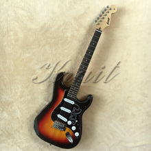 SRV electric guitar direct deal best quality free shipping any color(China)