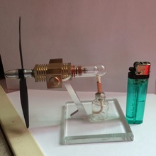 Cool !Miniature Stirling engine 'Free man' Stirling engine engine generator model hobby Educational Toy Kits