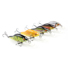 "5 Color 2.5""/4g Small Bionic Crankbait Lifelike Fishing Lure Unique Body texture Fish Bait Hard Wobbler Tackle pesca HML11A(China)"
