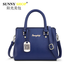 2017 Women Saffiano Handbags Black Zipper Shoulder Crossbody Bag Female Hollow Out Clutch Hot Sale Messenger Bags Pu Sac Mb14(China)