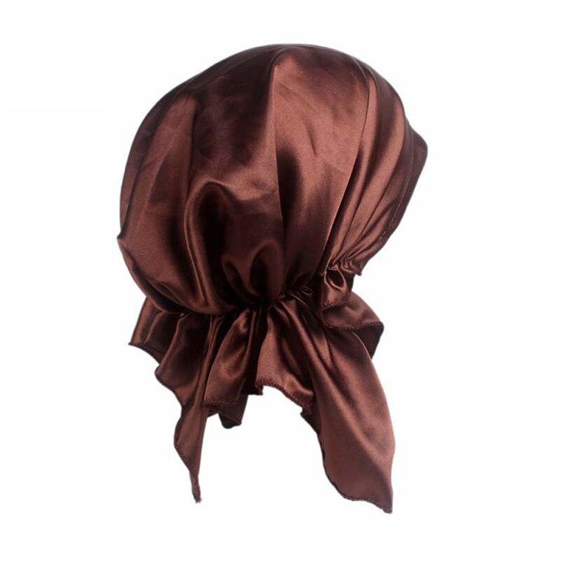 Women Summer Hats Fashion Casual New Arrivals Cancer Chemo Hat Beanie Scarf Turban Head Wrap Cap Hot Sale Hats #J19 (1)