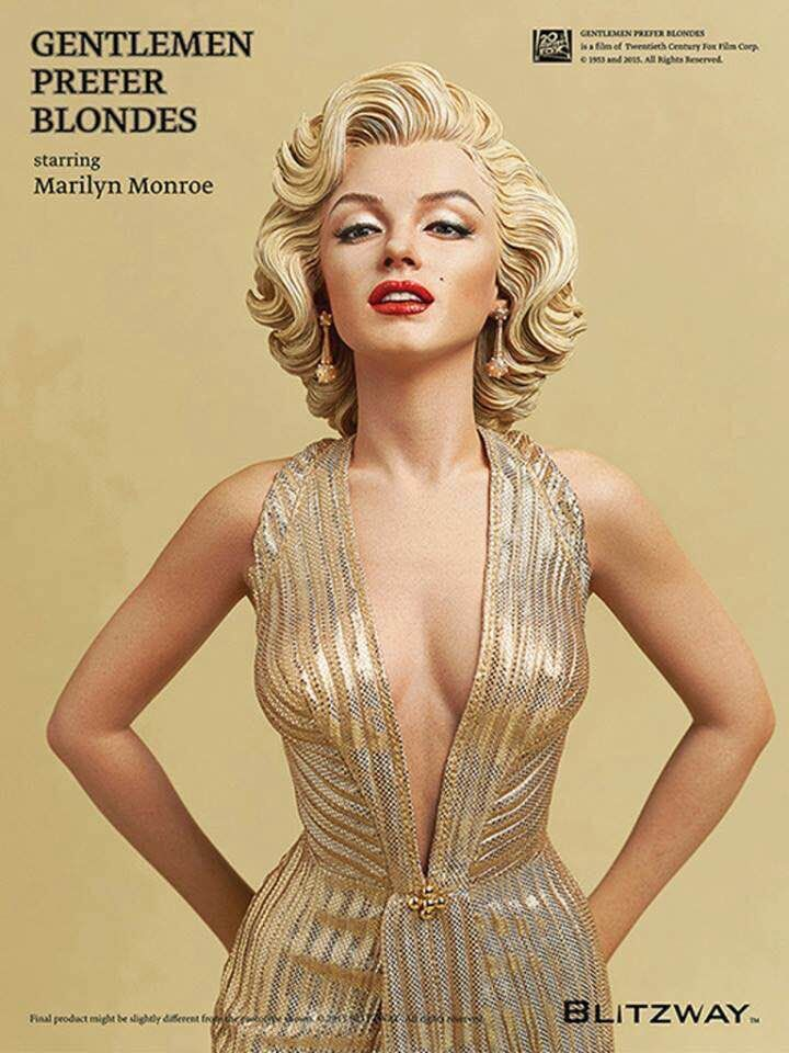 NEW-hot-40cm-Sexy-Marilyn-Monroe-collectors-action-figure-toys-Christmas-gift-doll