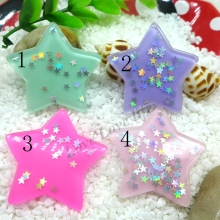 39MM Kawaii Star  flatback resin cabochon for phone deco  hair bow diy  Scrapbook Embellishment Free shipping