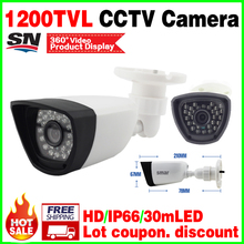 "Low Price Sale!1/4""Cmos 1200tvl FH8510+139 HD Camera IR-cut Outdoor waterproof IP66 Night Vision 30m security monitoring vidicon(China)"