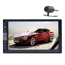 2 DIN Car DVD / GPS/ CD / MP3 / mp5 / usb / sd / player Bluetooth Handsfree Rearview after Touch screen hd system Free camera(China)