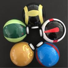 Latest beautiful 55MM*3Parts Colorful Pokeball Pokemon Go Herb Grinder Weed Herb Tobacco Grinder Cigarettes Smoke Crusher(China)
