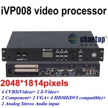iVP008 LED Video Processor 2048*1814 pixels Signal Processor System CVBS/YPbPr/VGA/HDMI/DVI input For LED rental Display
