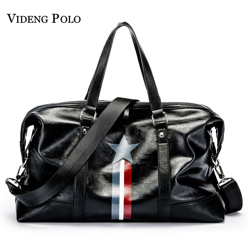 VIDENG POLO Brand Men Casual Large Capacity Handbag Duffle Crossbody Can accommodate 14-inch Laptops Messenger Bag Travel Bag<br>