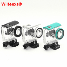 WILTEEXS 40M Underwater Diving Waterproof Case For Xiaomi Yi  Sports Waterproof Box For Xiaomi yi Action camera