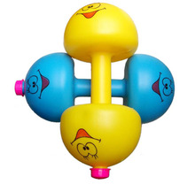 BOHS Children Kids Boys  Weight Adjustable Fitness  Dumbbell Filled  With  Sand  Water Rice Toys