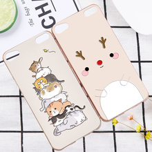 Lovely 3D Pandas Deer Case Cover For Apple iPod Touch 4 5 Cute Pig Flower Relief Hard Phone Shell For Apple iTouch 6(China)