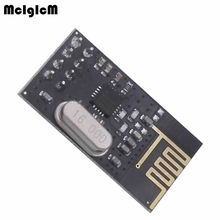 MCIGICM Free shipping 5pcs NRF24L01 NRF24L01+ Wireless Module 2.4G Wireless Communication Module Upgrade Module