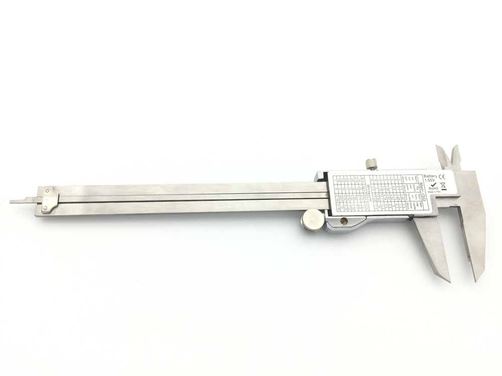 Metal 6-Inch 150mm Stainless Steel Electronic Digital Vernier Caliper Micrometer Measuring Tool Caliper