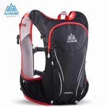 9dc2552cd0d AONIJIE Trail Running Rugzak Outdoor Sport Wandelen Camping Rugzak 5L  Marathon Hydratatie Vest Pack Voor 1.5L Water Bag
