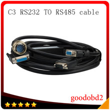 Car connect cable For Benz MB Star C3 OBD2 Connector Cable Diagnostic Tools Scanner Tools RS232 To RS485 connect Cable(China)