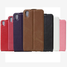 For BlackBerry DTEK50 case cover, 2016 new Slim soft Flip PU leather phone Cover Case For BlackBerry DTEK50(China)