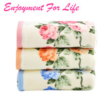 Face Flower Towel Bamboo Fiber Quick Dry Towels For 1PCS 34*75cm Soft Cotton 2016 High Quality New Arrival Free Shipping Nov 9