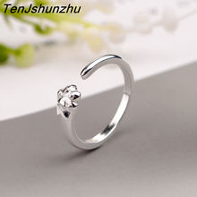 Hot New Arrivals 925 Sterling Silver Cat Claws Rings for Women Adjustable Size Ring Fashion sterling-silver-jewelry jz251(China)