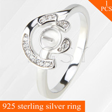 Free shipping LGSY simple design and beautiful look multiple sizes 6/7/8 simple 925 sterling silver ring accessory 1 piece