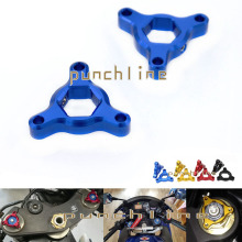 For Suzuki GSXR 600 GSX-R600 GSXR 750 GSX-R750 GSX650F SV650/SV650S Accessories 19mm CNC Suspension Fork Preload Adjusters Blue(China)