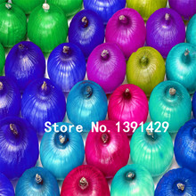 50pcs 10 kinds Fresh Onion Seeds (blue green purple) vegetable seeds 95% germination organic edible food plant for home garden