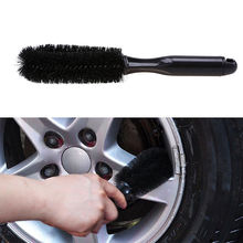 WHISM Handle Car Brush Wheel Rims Tire Scrub Truck Motorcycle Bicycle Washing Car Cleaner Tool Vehicle Cleaning Brushes(China)