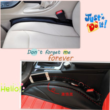 Car Seat gap Pad plug seat leak cover decoration cover For audi a4 b8 hyundai ix35 chevrolet captiva peugeot 208 kia sportage 3(China)