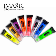 IMAGIC makeup beauty Fluorescent paint neon colour face body paint uv reactive lamp Party Body fluorescence(China)