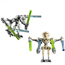 WAR STARS Grievous lightsaber weapons Force Awakens original toy star war lepin accessories Mini figures - LPGO TOY store