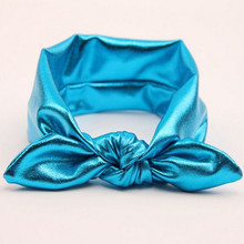 baby bow Headband fluorescence neon color Stretch Headwrap Top Knot Girls Head Wraps Knott Hedband Children Hair Accessories
