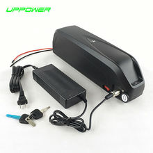 US EU No Tax New Shark case 14S Sanyo cell 51.8V 52V 17.5Ah Li-ion Battery 48V 1000W 1200W Electric Fat Bike Hailong Battery(China)