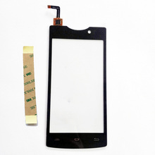 "4.5"" New Touch Screen For Micromax Bolt D320 Digitizer Touch Panel Front Glass Sensor Mobile Phone Replacement"