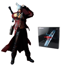 SAINTGI Devil May Cry 3 Play Arts Kai Action Figure Model SQUARE ENIX Dante PVC 23cm Action Figure Collectible Model Toy(China)